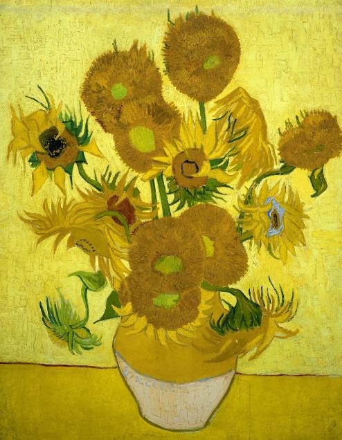 tournesol par Vincent Van Gogh